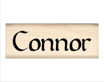 Name Rubber Stamp for Kids  - Connor