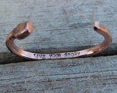 Hand Stamped Personalization- UPGRADE for Bangle and Cuff Bracelets, Rings, Custom Hand Stamped Message, Special Date, Name, Birthdate