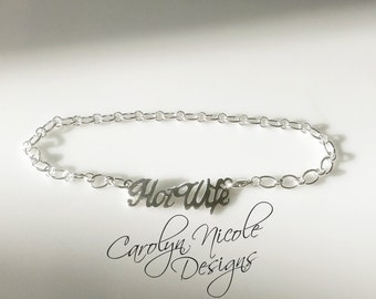 HotWife Anklet (Sterling Silver)