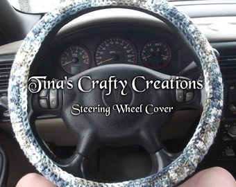 Crochet Steering Wheel Cover