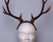 Faux Deer Fawn Antlers Horns  on headband