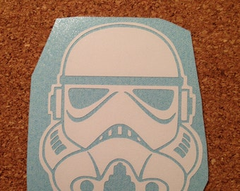 Stormtrooper/Darth Vader Star Wars Vinyl Decal