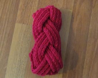 Pink Braided Headband