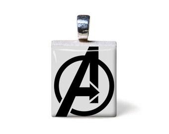 Avengers Scrabble Pendant