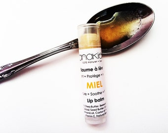 Honey Lip Balm. Honey Lip butter. Shea Butter. 100% Natural. Lip Butter. Organic Skin Care. Nourishing. Spa Gift. Handmade.