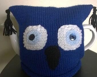 Blue Owl Tea Cosy