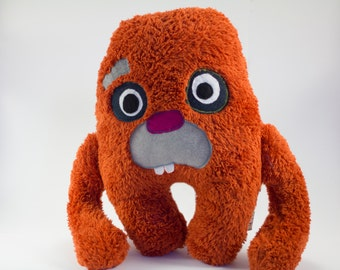"Fur Monster Plush Doll WubDoll ""Barry"""