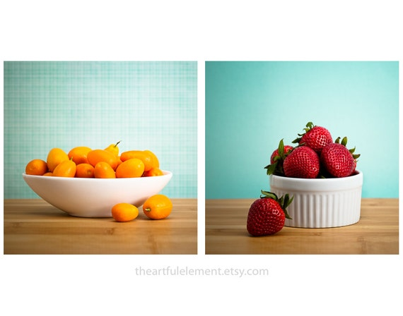 Kitchen Art Large Wall Art Fruit Kitchen Decor Kitchen