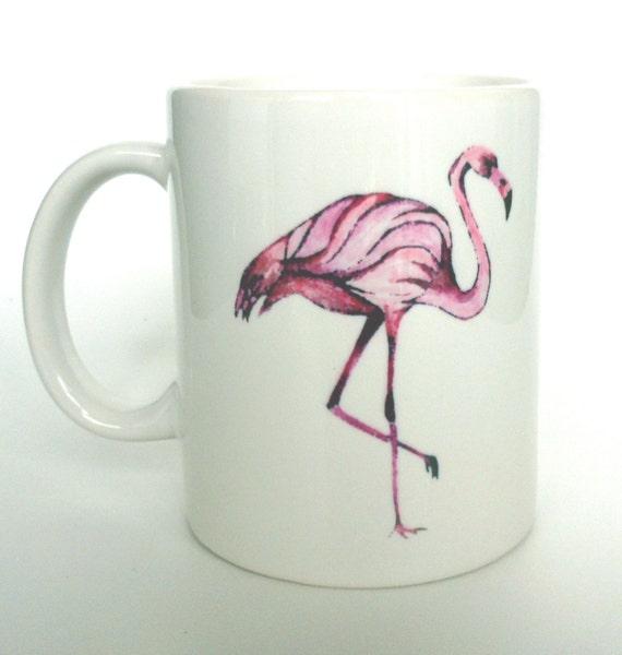 Flamingo Mug Pink Flamingo Home Decor Pink Home By Neishart