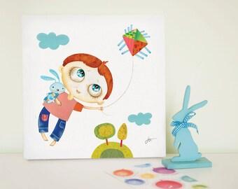 Canvas Prints For Baby Room nursery canvas art | etsy