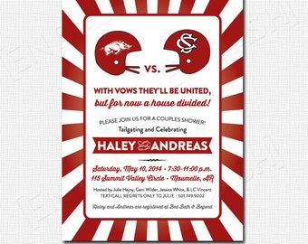 House Divided Invitation