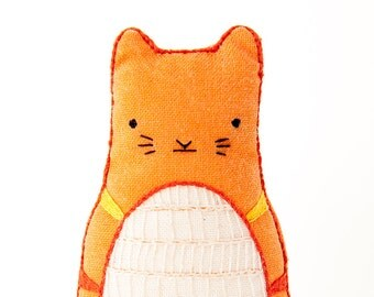 Tabby Cat - Embroidery Kit