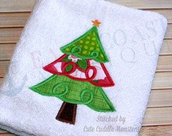 SWIRLY TREE machine embroidery design