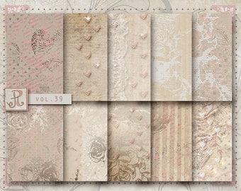 Digital Papers - Blog background, Card making vol.39
