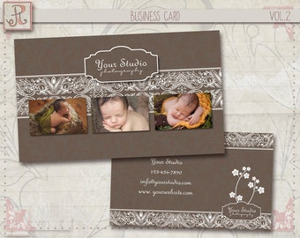 Photography Business Card Template - Photoshop Files vol.2