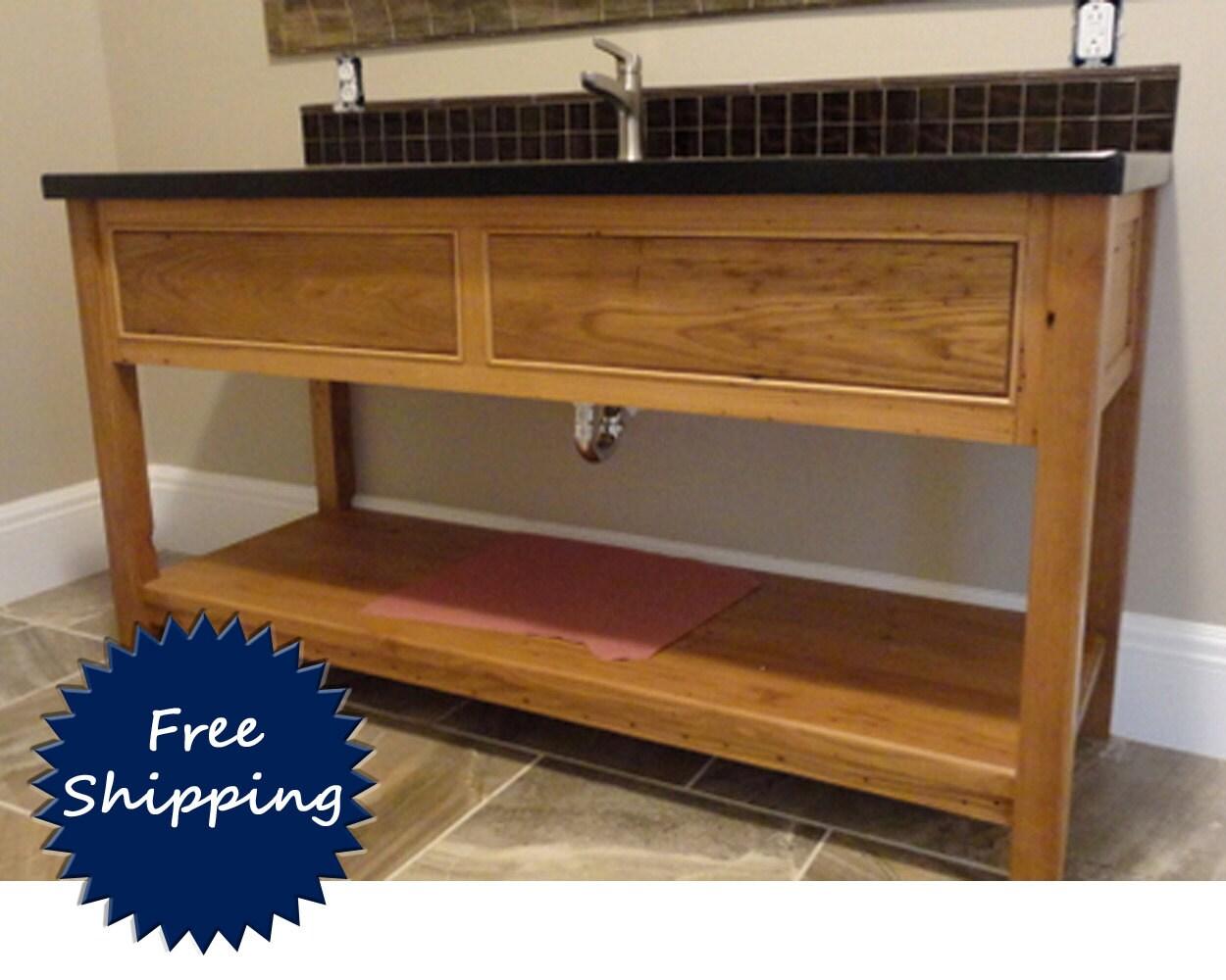 Bathroom Vanity Made To Order From Reclaimed Barnwood Free