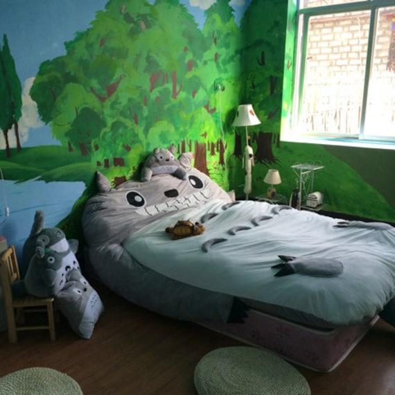 Totoro Bed Sofa Totoro Double Bed Totoro Sleeping Bag Fast