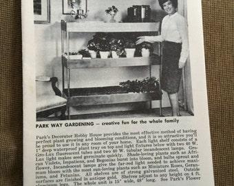 1950's Geo. W. Park Seed Co, How To Grow House Plants