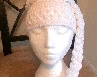 Crochet Queen Elsa Hat