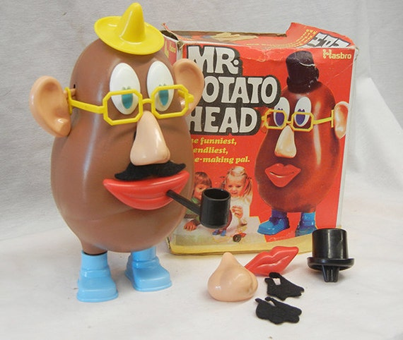 Vintage Mr Potato Head Beso