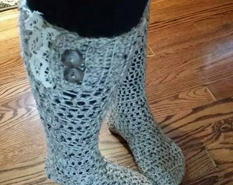 Vintage Boot Socks