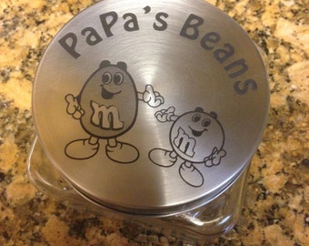 Personalized Candy Jar