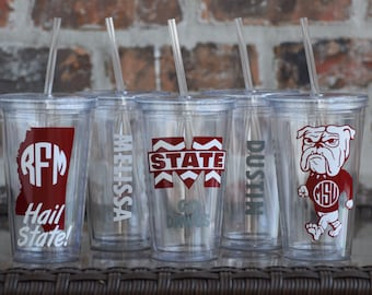 Mississippi State Gameday Tailgating Tumblers