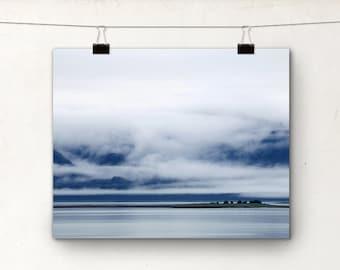 Fine Art Photography, Inside Passage, British Columbia Canada, Island, Fog