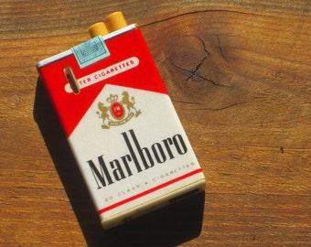 Vintage Rare Marlboro Cigarettes Butane Lighter