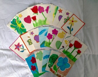 Help Support A Nicaraguan School!! Handmade cards, by donation.