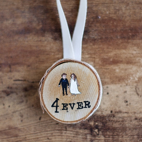 Love Forever Birch Tag Original