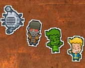 Super Nuka Friends - Sticker 4 Pack - Free US Shipping