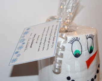 Toilet Paper Christmas Neighbor Gift Tag