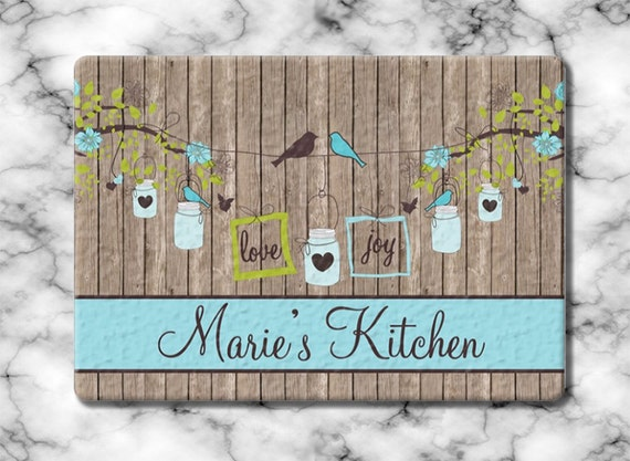 Christmas Gift for Mom Personalized Gift for Grandma Glass Cutting Board Custom Monogrammed Gifts Hostess Housewarming Gift Grandmother Gift