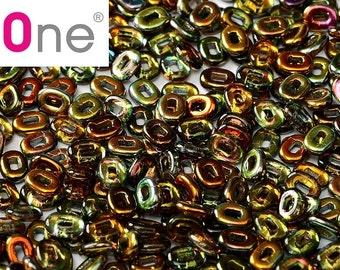 5 g Magic Copper Czech One Beads 5x3,5 mm (9369)