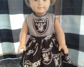 Raiders cheerleading outfit