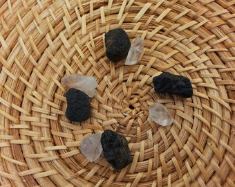 Outdoor Protection Grid ~ Reiki Infused Archangel Michael Blessed crystal protection grid with instructions