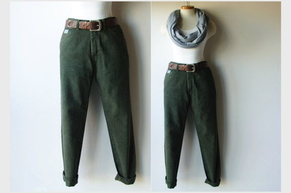 forest green wrangler jeans made in usa high by redletterstyle. Black Bedroom Furniture Sets. Home Design Ideas