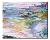 Enchanting ~ Mystical Abstract Ocean Wall Art ~ Colourful ~ Peaceful Wall Décor