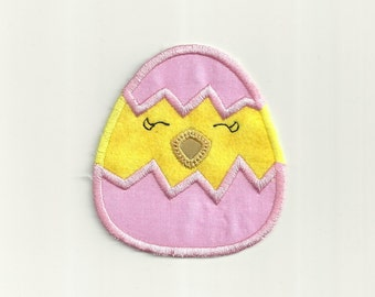 Hatching Easter Chick Patch! Custom Made!