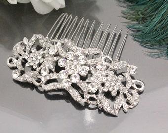 Bridal hair comb Rhinestone wedding comb Crystal bridal comb wedding hair comb bridal hair piece wedding haircomb bridal hair jewelry bridal