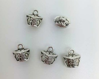 20 pcs  Double Sided Chinese Lucky Charms, Chinese  Luck Charms, Lucky Charms,