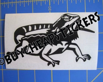 Bearded Dragon Decal/Sticker - 3X5
