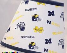 NCAA University of Michigan Fabric Lamp Shade