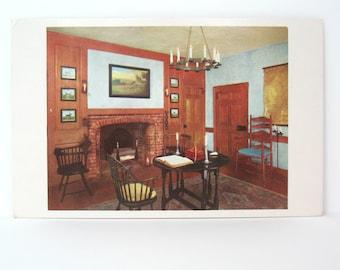 Delaware Postcard Corbit House Historic Homes  Post Cards Landmarks Ephemera 1960s