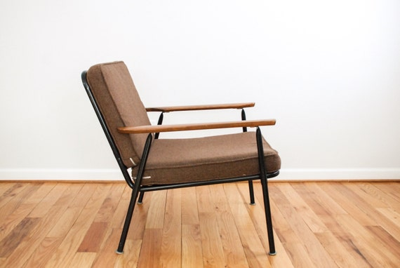 Mid Century Lounge Chair Danish Chair Mid Century Chair