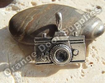 Camera Charm - 20mmx 11mm - 4 Pcs (MWC 100)