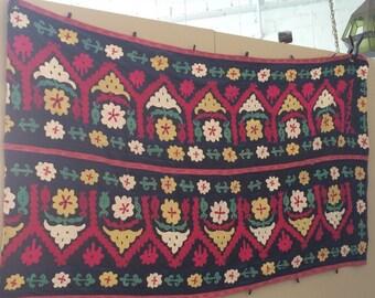 Uzbek Embroidered Suzani