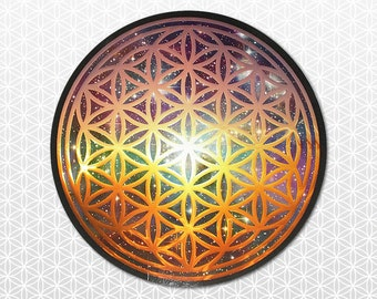 Sacred Geometry Flower of Life sticker