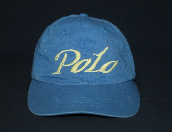 Vintage polo sport ralph lauren cap hat fishing hunting for Polo fishing hat